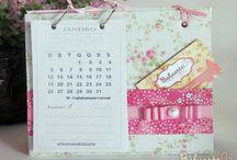 Kalendáře scrap
