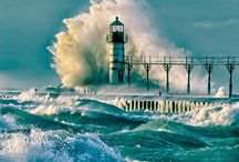lighthouses in the storm