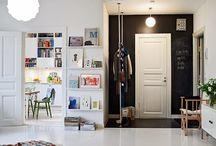 Decoración para paredes / Ideas para crear un ambiente divertido y original con pintura de pizarra
