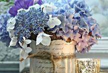 Hortensia bloemstuk