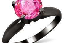 Black Gold - Pink Sapphire Glam!