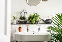 Salle de bain végétale
