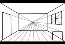 6th grade linear perspective / by Jane cate
