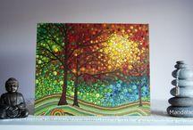 Dot Art Paintings