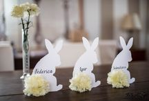 Made out of bunnies and carnations