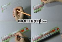 Drawing stages / drawing stages by #marcellobarenghi