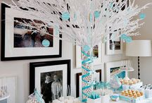 """Winter Whimsey / Even if you live in sunny California you can bring a little """"winter whimsey"""" into your home with these wintertime decorating and entertaining ideas."""