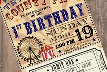Fair Birthday Party