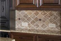 model keramik dinding dapur