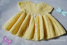 Crochet Baby Dresses / crochet baby dresses / by Nancy Masullo