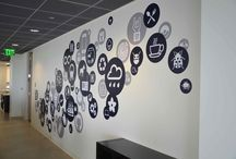 Creative Office Wall