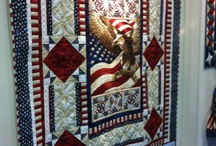 ♥American Pride Quilts♥ / by Sandra Taylor