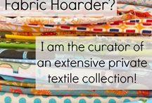 fabrics / by Cathy Fox