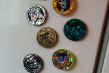 Handmade Magnets / We carry a line of handmade and repurposed magnets by Heidi Wholeness Creations
