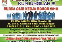 Jadwal Event Bogor
