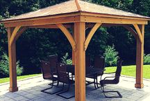 Yardistry Products / Have a look at our beautiful outdoor structures!