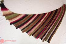 Chales, shawls, blankets and cowls