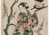 Japanese Benizuri-e