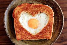 Frühstück Anrichten