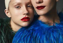 Colour Splash for PolisArt Magazine / ph by Viktoria Ovcharenko make-up and Hair by Elen Cherednikova make-up assistant Snezhana Shabanova models Tamila Protsenko and Liana Tkachenko (Ego models) style by @vegcouture #vegcouture
