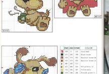 Haft krzyżykowy - Psy / Cross stitch - Dogs