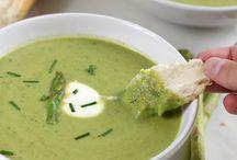 Food. Beautiful soups