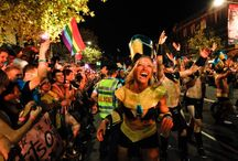 Sydney Mardi Gras Festival / We're all for LGBTQI equality and the Sydney Gay and Lesbian Mardi Gras Parade is a festival to celebrate this in abundance. A whole board dedicated to this event so get your feather boat on and start repinning in support. www.cremornepointmanor.com.au