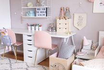 Shared girls room