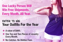 Love a Contest! / Who doesn't love the chance to win stuff????  Nobody!
