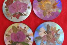Pressed flowers / Crafting with pressed dried flowers