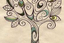 Illustrazioni alberi