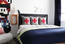 Teenage Boys Bedroom / Ideas for a 14 year old who needs a room refresh