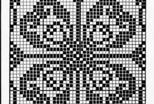 filet crochet / by Kimmy Burger
