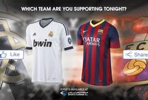 King's Cup / King's Cup Final - Which team are you supporting tonight? Jerseys available at City Center, Land mark Sports Corner stores