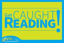 Get Caught Reading! / Check out these kiddos who got caught reading, wahoo!  / by SimplyFun