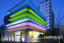 Arquitectura a color / by Maria Gabriela Bermudez