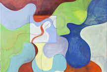 schilderen / schilder graag  lijnen en vlakken