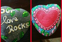 My own self painted Stones