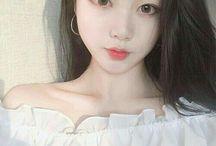 aesthetic Korean girls