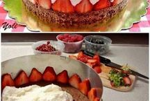 Joghurtos torta ötlet