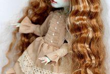 Dolls Monster High/Ever After High repaints ooak