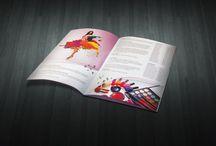 Work - Brochure and Leaflet