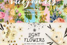 design resources ♡ / templates, design, fonts, Photoshop, elements