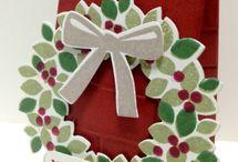 Stampin up wondrous wreath / Stampin up UK wondrous wreath inspiration