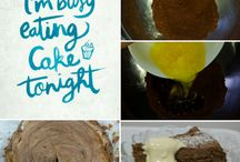 feed them cake / Recipes for the domestically challenged