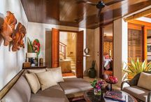 Exotic & Tropical Feeling Rooms