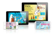 Naxos Apps / Naxos now produces interactive apps for mobile devices – Apple's iPhone, iPod and iPad, as well as Android smart-phones and tablets. It has been building on the huge success of My First Classical Music App to create further products both for children and for adults. / by Naxos Of America