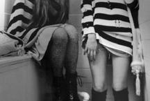 Feeling black and white