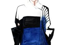 Fashion illustrations by Antonio Soares