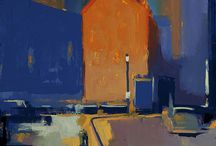 architectural art / architect paintings, posters, drawings, sketches